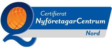 Nyföretagarcentrum Nord - Certifierad